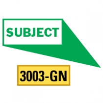 Subject Locator Pointing in 4 Directions, Green