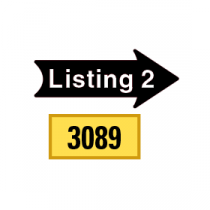 Solid Tiny Listing 2 Arrows 1/2 Left-1/2 Right