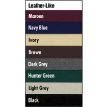 Leather-Like (Plain Front, Square Corners) 8 1/2 in.x14 in - Legal Size