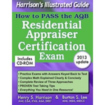 Residential Appraiser Certification Exam Book. Includes CD-ROM.